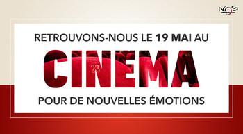 Ouverture de vos cinemas le mercredi 19 mai !