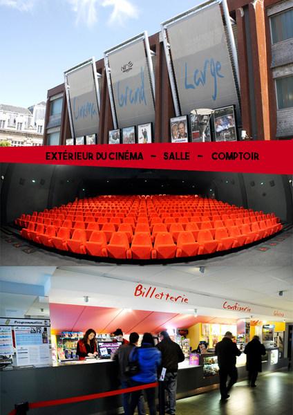 Visite virtuelle  Fécamp - NOE Cinémas Grand Large